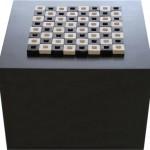 Modular Chess - glazed ceramic - 4,25 x 4,25 cm (x 64)