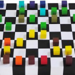 Color Chess/ Deep Blue - Kasparov, New York 1997, 2° game