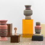 Urmenschen, 2017 - plexiglas, ceramic, mdf
