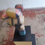 Skulptur I: Holz, vallcromat, mdf, plexiglas